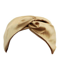 gold twist headband