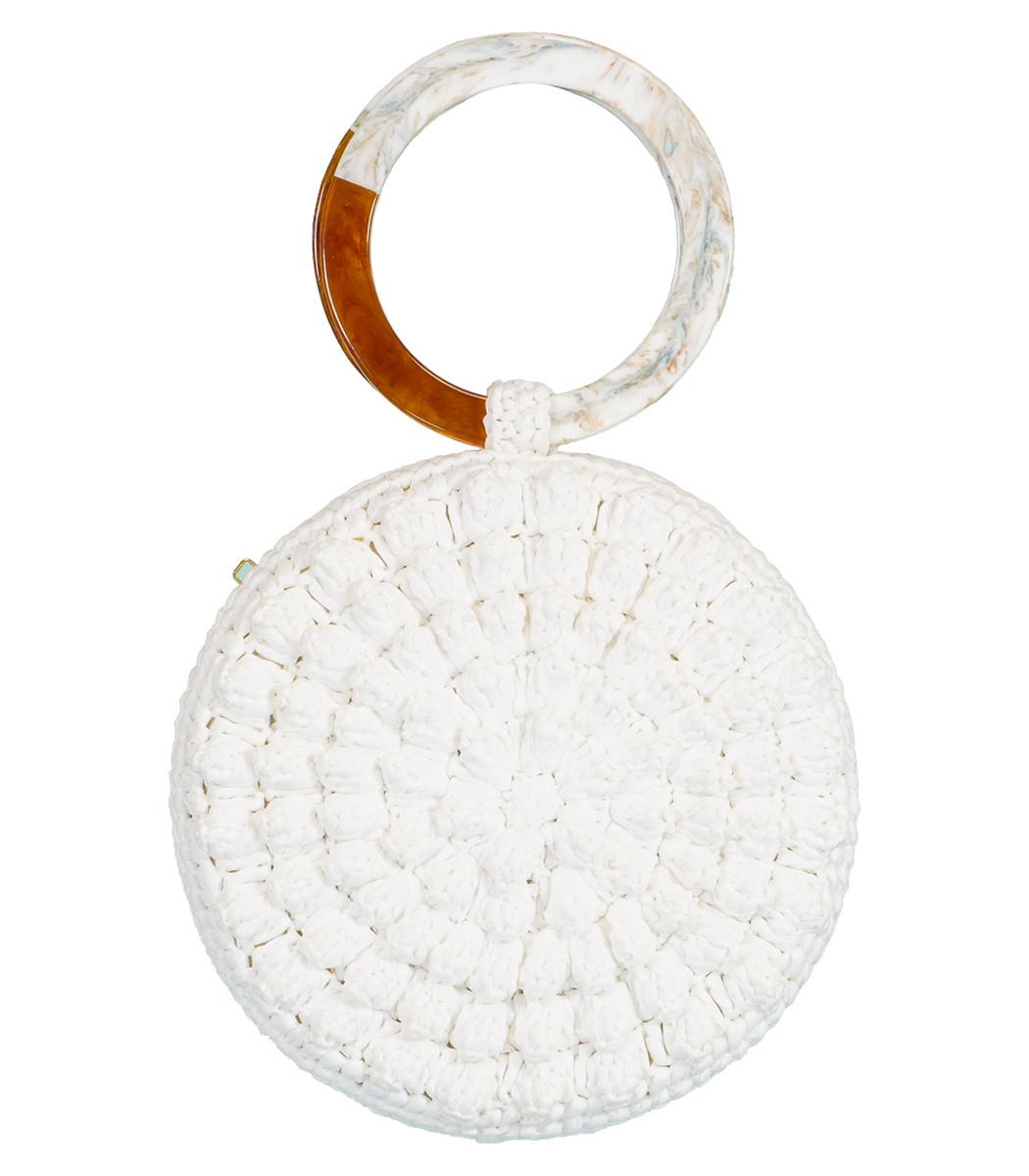 Serpui Serena Popcorn Top Handle Bag