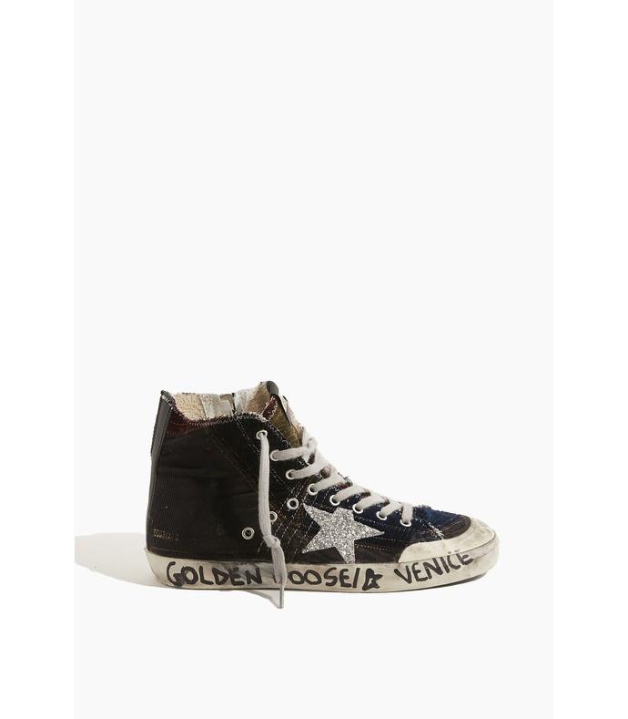 francy sneaker in multicolor/silver/black