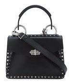 black small hava top handle bag