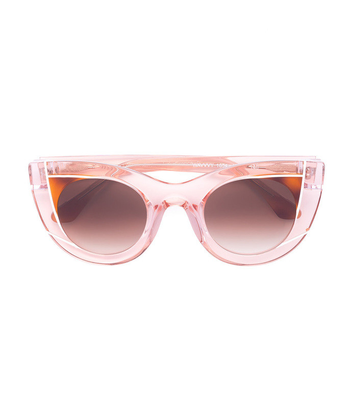 peach pink wavvvy 1654 sunglasses