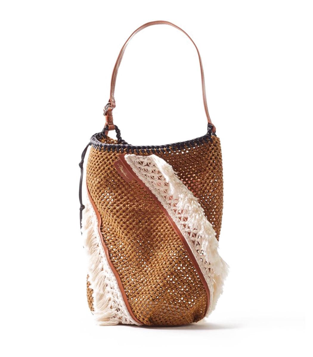 ee94ec94e 3.1 Phillip Lim Marlee Open-Weave Fringe Bag - ShopBAZAAR