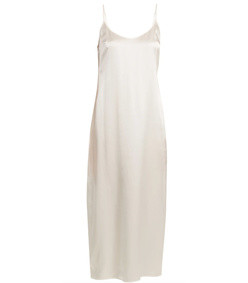 scoop-neck silk-satin slip