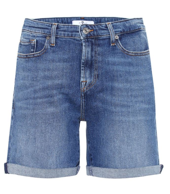 boy high-rise denim shorts
