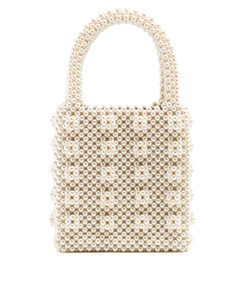 antonia faux pearl embellished bag