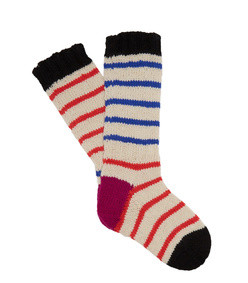 hockney striped wool socks