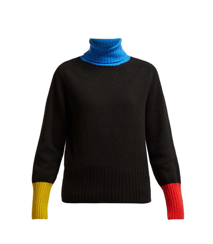 rudi wool roll neck sweater