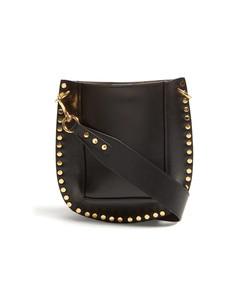 nasko studded leather cross body bag