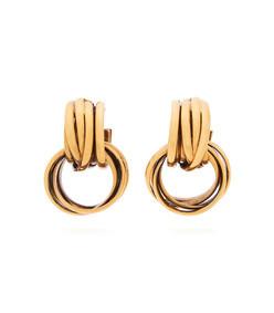 bb double hoop earrings