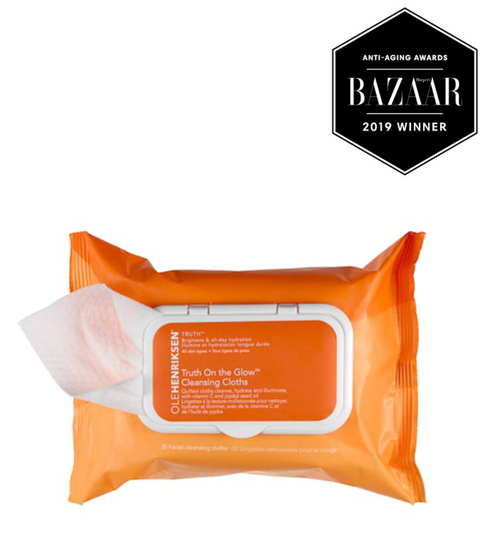 olehenriksen truth(tm) on the glow cleansing cloths 30 facial cleansing cloths