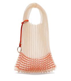 beaded small market bag