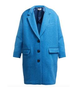 gimi oversized wool blend coat