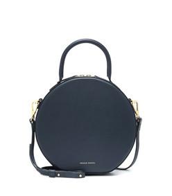 circle leather crossbody bag