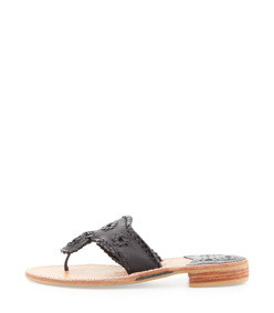 palm beach whipstitch thong sandal
