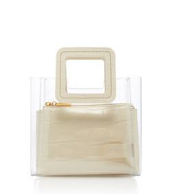 shirley mini croc-effect leather bag