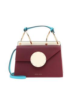 phoebe bis leather shoulder bag