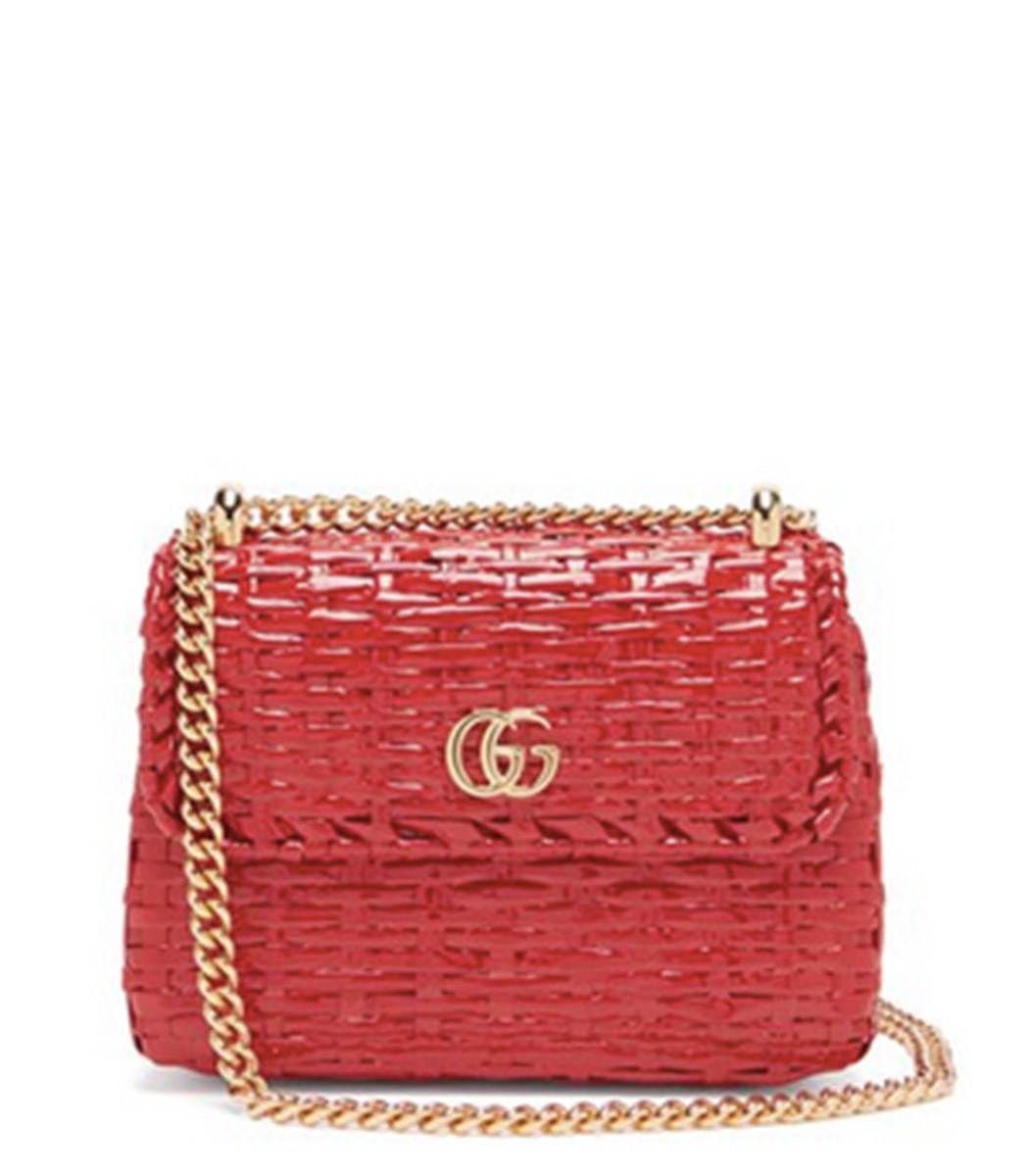 235416db31ac Home / Gucci / Cestino Woven Wicker Cross Body Bag. prev