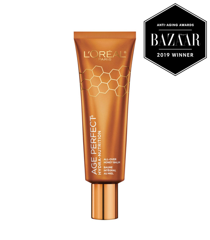 age perfect hydra nutrition all over paraben free honey balm
