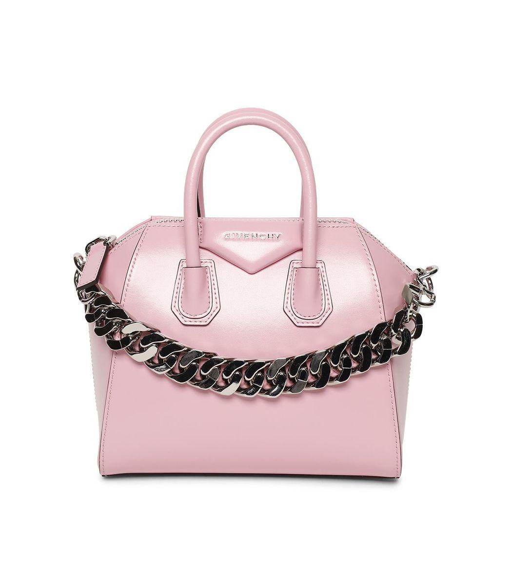 Givenchy Leathers Antigona Mini Bag, Baby Pink