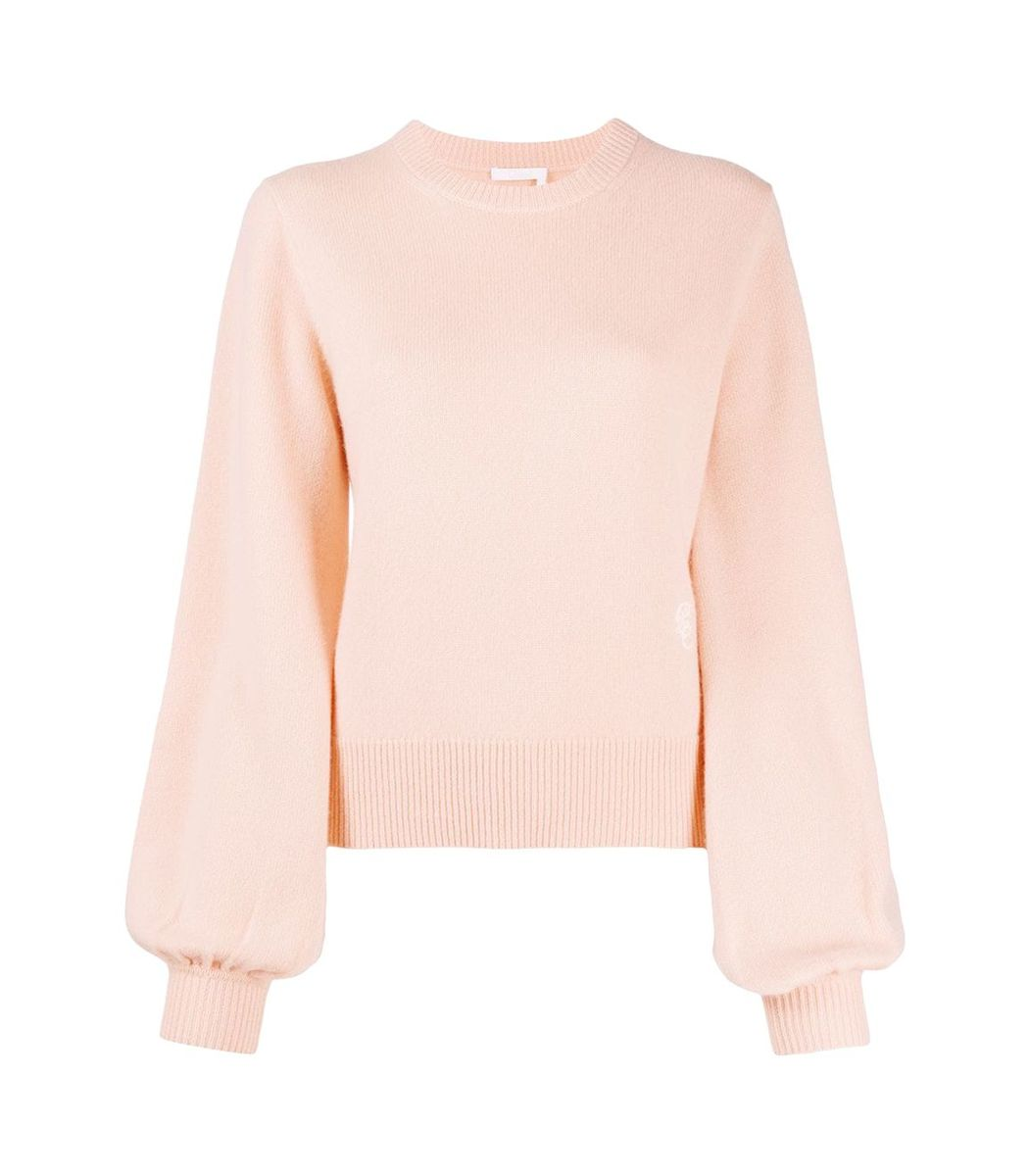 Chloé Cashmeres Light Pink Cashmere Knit Jumper