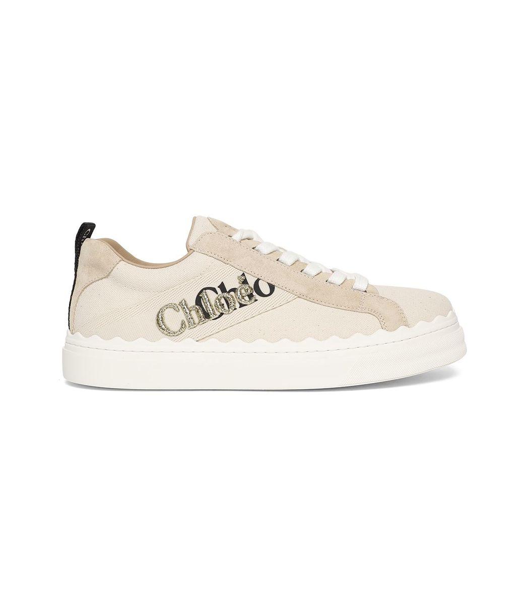 Chloé Sneakers Double Graphic Logo Sneaker