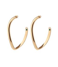 calypso curve hoop earrings