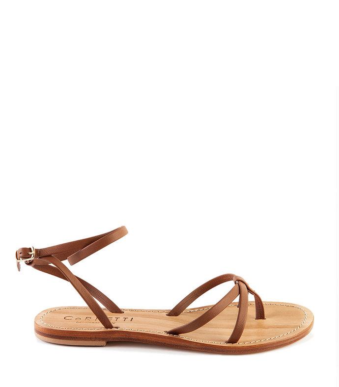 f580b00e986d Cornetti. Vulcanello Brown Calfskin Sandals