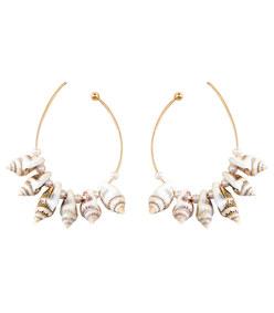 mini lolita shell earrings