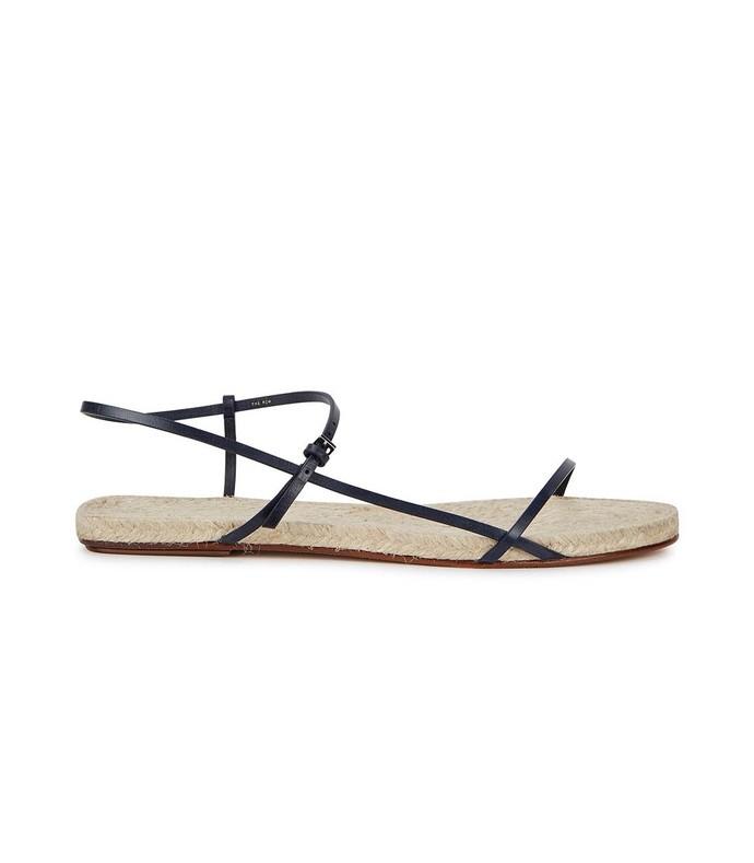 bare espadrille sandal