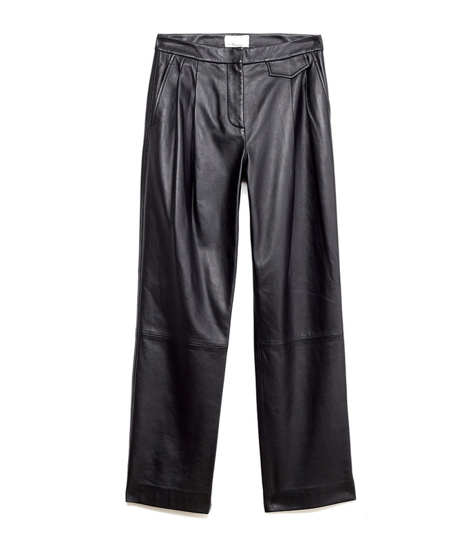long leather pant