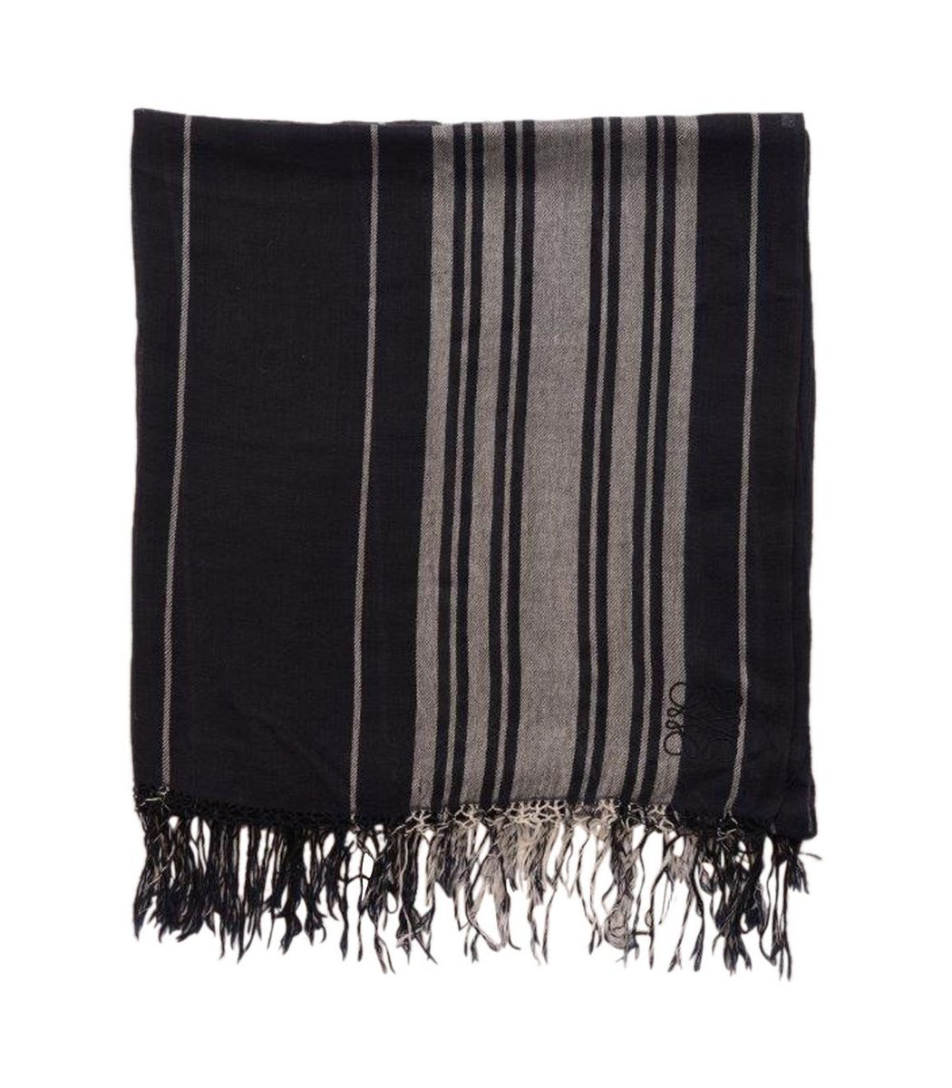 Loewe Striped Cashmere Scarf