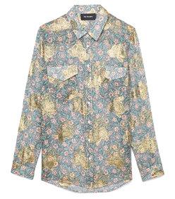 western flowers shirt