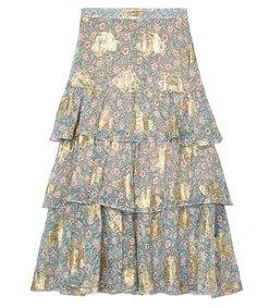 western flowers skirt