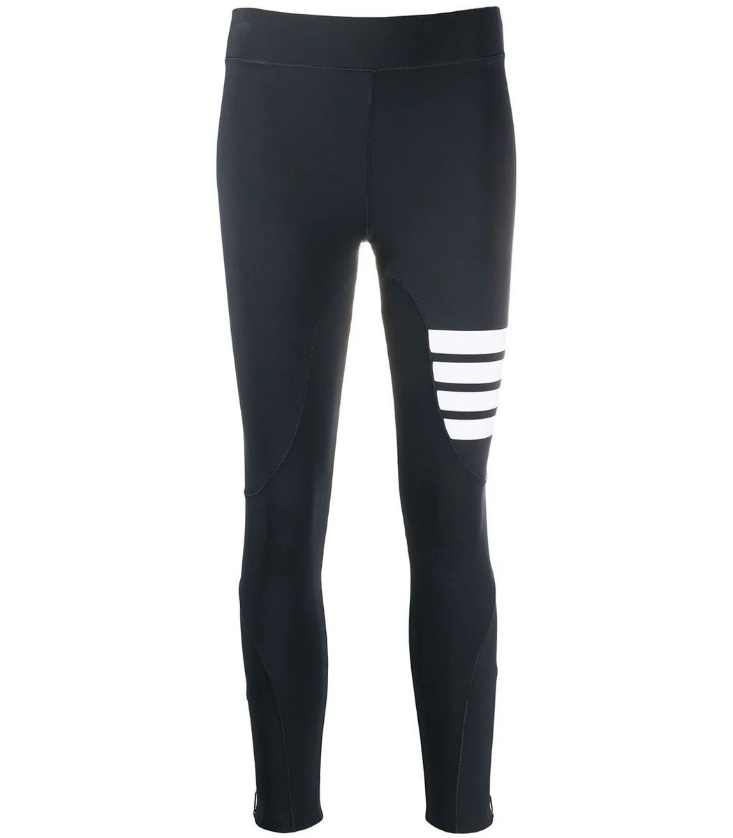 Thom Browne Charcoal Compression Tights