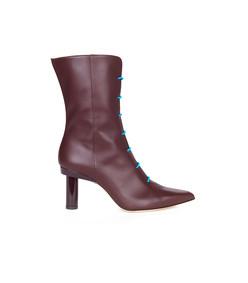 burgundy/blue multicolor adrian boots
