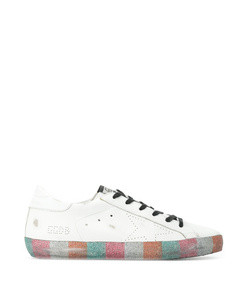 rainbow glitter superstar sneakers