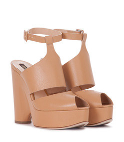 leather wedge rasna sandals