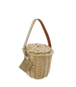gold mini birkin basket