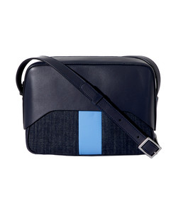 navy/blue garçon bag by myriam schaefer