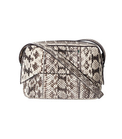 ivory snakeskin garçon bag by myriam schaefer