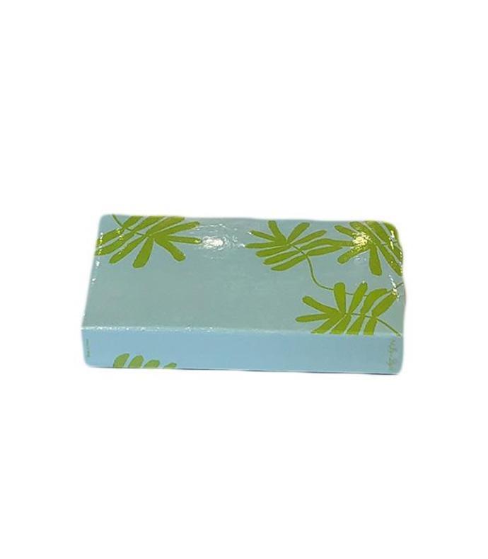 green ferns embsed matchbox