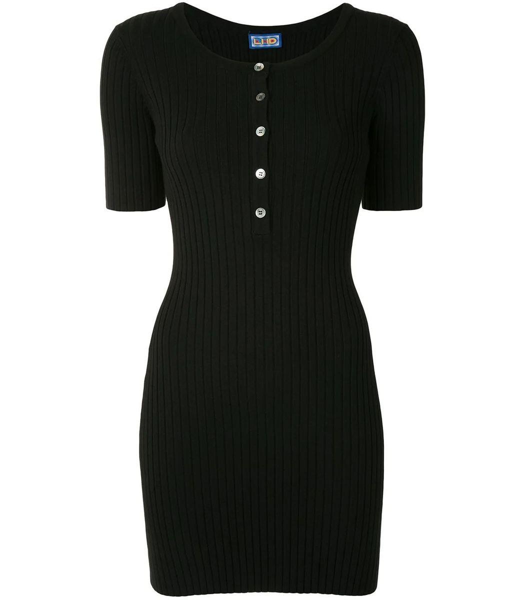 Lhd Samphire Knit Dress, Black