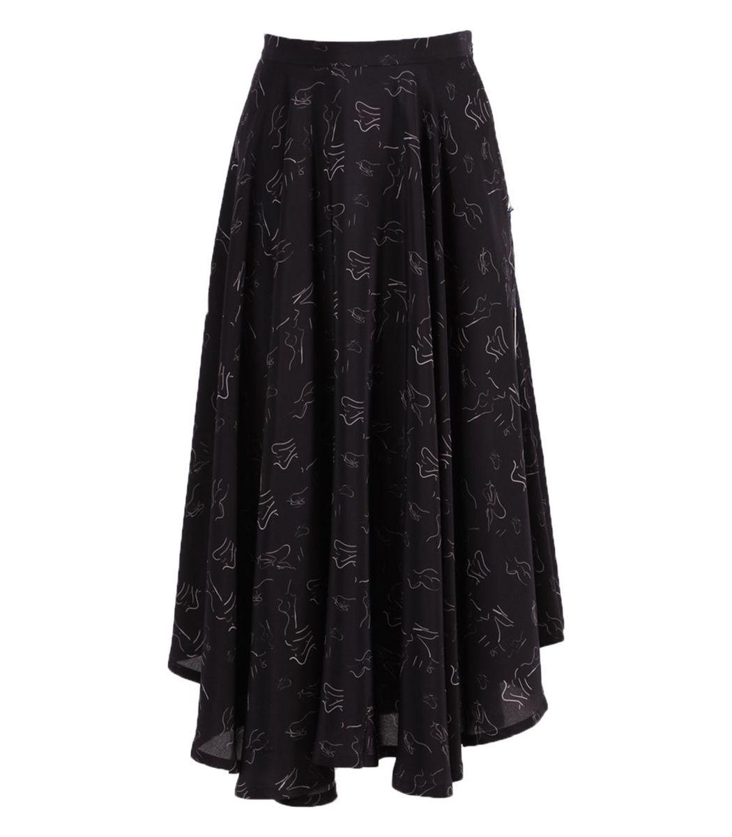 Lhd Denims French Riviera Skirt