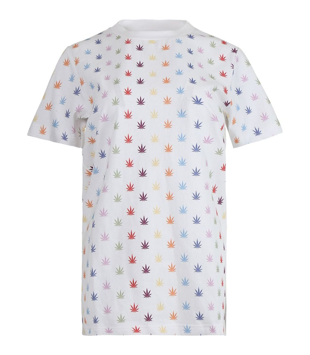 Lhd X Adam Lippes Weed T-shirt, White