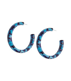 oversized broadway hoop earrings
