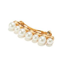 mixed pearl barrette