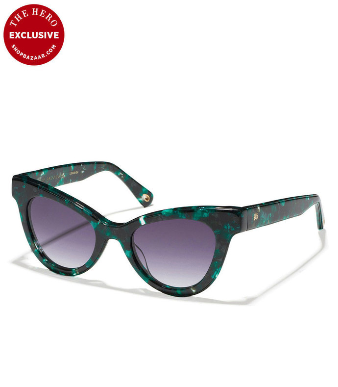 uptown cat-eye sunglasses