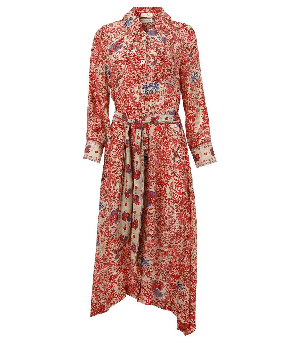 Chufy Midi Shirt Dress