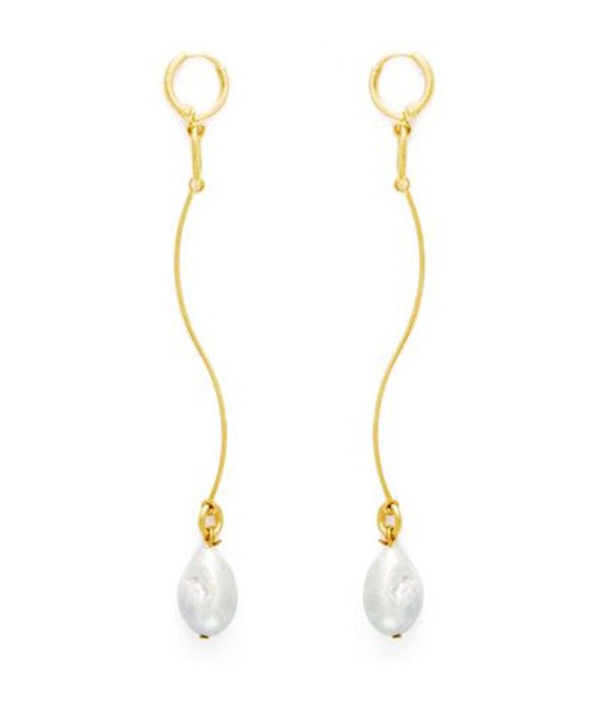 stream earrings
