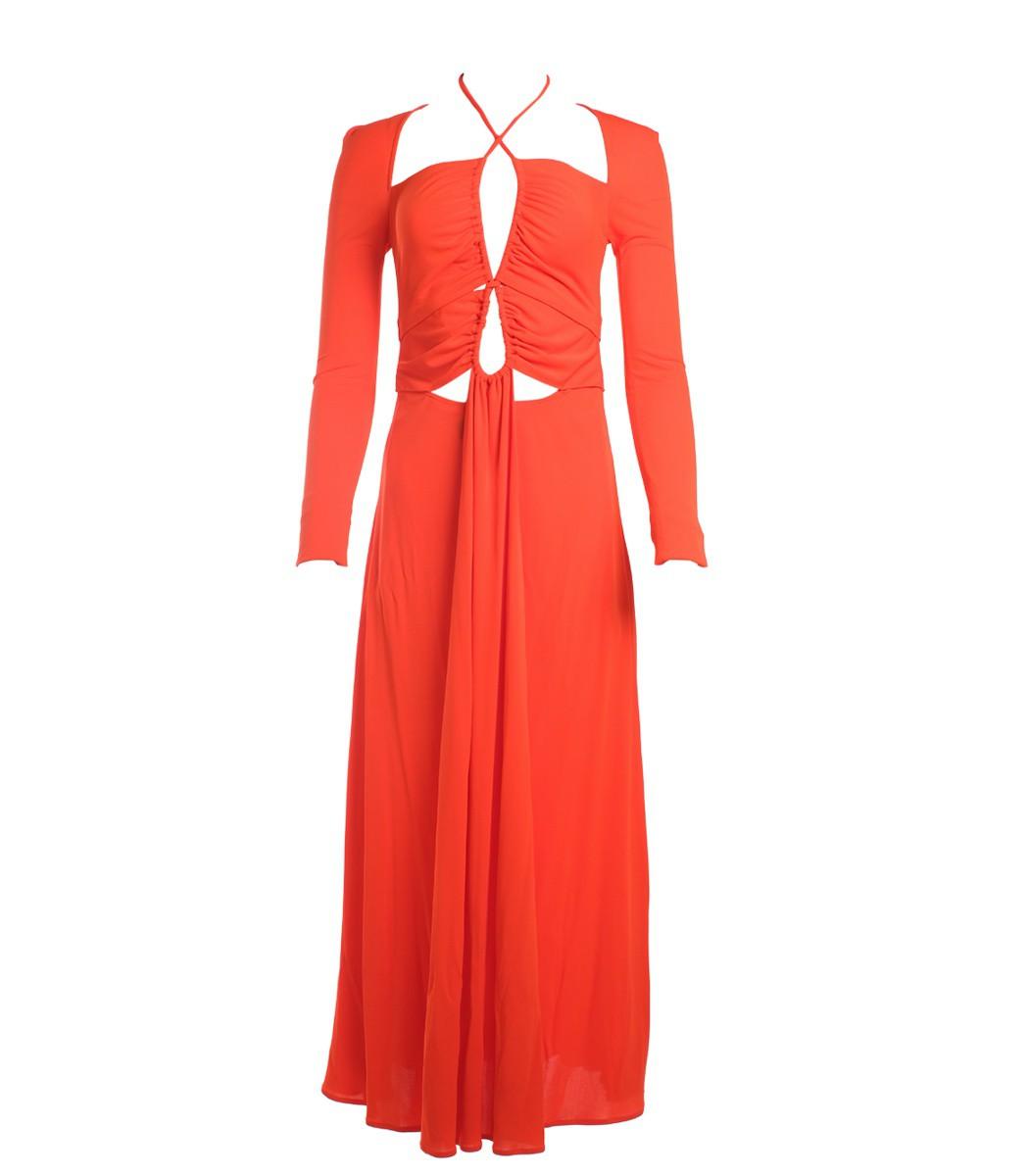 Proenza Schouler Cut-out Maxi Dress